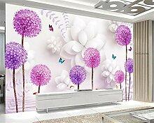 Aliworte 3D Tapete Schlafzimmer Wohnzimmer Blume