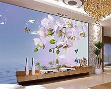 Aliworte 3D Tapete Schlafzimmer Wohnzimmer