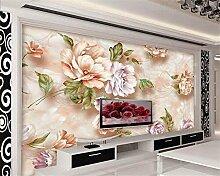 Aliworte 3D Tapete Schlafzimmer Wohnzimmer Floral