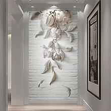 Aliworte 3D Tapete Schlafzimmer Wohnzimmer Weiße