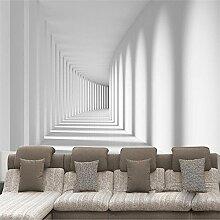 Aliworte 3D Tapete Schlafzimmer Wohnzimmer Weißer