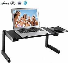ALKK Laptop Tisch, Ergonomischer Laptop Ständer,