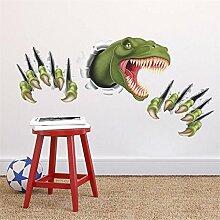 All 3D Dinosaurier Wand Aufkleber Für Kinder Zimmer Home Decoration Cartoon Tiere Wand Aufkleber Safari Pvc Wandmalerei Kunst Diy Poster Boy Geschenk