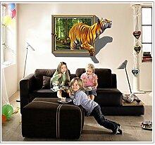 All 3D-Effekt Hintergrund Abnehmbare Wand Aufkleber