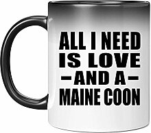 All I Need Is Love And A Maine Coon - 11 Oz Color