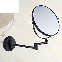 All-Kupfer-Spiegel/ der Spiegel/ Spiegel hochklappen/ Kosmetikspiegel/Double Zoom Dusche Spiegel