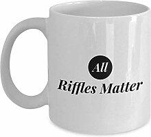 All Riffles Matter Coffee Mug Cup 11oz