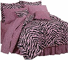 All Seasons Bedding Pink Zebra +