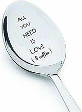 All You Need Is Love & Kaffee Löffel-Kaffee