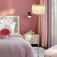 Allamp Moderne LED-Stehleuchte Nordic Luxus weiße