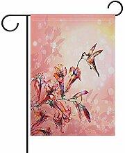 ALLdelete# Garden Flag Weinlese-Blumen-Lilien-und