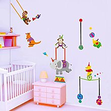 ALLDOLWEGE An die Wand - Kinder Zimmer cartoon