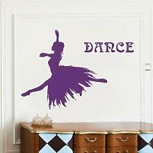 ALLDOLWEGE Ballett Tänzerin Mädchen Wohnzimmer