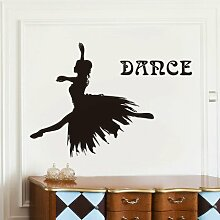 ALLDOLWEGE Balletttänzer Mädchen Wohnzimmer Wand