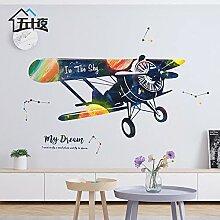 ALLDOLWEGE Cartoon Flugzeug Wallpaper