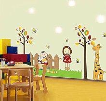 ALLDOLWEGE Die Zimmer kreative Kinder baby Wand
