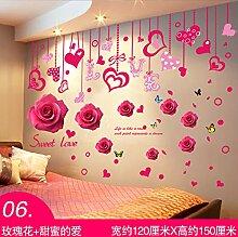 ALLDOLWEGE Ein einfaches romantisches Schlafzimmer