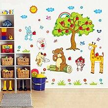ALLDOLWEGE Stilvolle cartoon Wand Aufkleber und