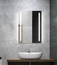 ALLDREI Badspiegel mit Beleuchtung AD27