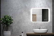 ALLDREI Badspiegel mit Licht Badezimmerspiegel mit