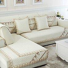 Alle Jahreszeiten Baumwolle Sofakissen/ einfaches Sofa Stoff Servietten-L 110x180cm(43x71inch)