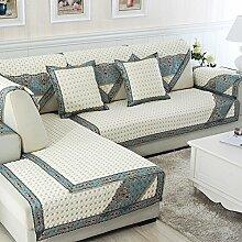 Alle Jahreszeiten Baumwolle Sofakissen/ einfaches Sofa Stoff Servietten-N 110x180cm(43x71inch)