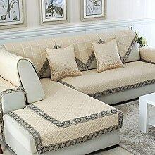 Alle Jahreszeiten Baumwolle Sofakissen/ einfaches Sofa Stoff Servietten-D 90x160cm(35x63inch)
