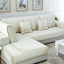 Alle Jahreszeiten Baumwolle Sofakissen/ einfaches Sofa Stoff Servietten-I 90x210cm(35x83inch)
