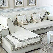 Alle Jahreszeiten Baumwolle Sofakissen/ einfaches Sofa Stoff Servietten-E 70x150cm(28x59inch)
