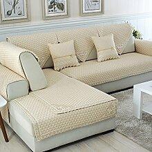 Alle Jahreszeiten Baumwolle Sofakissen/ einfaches Sofa Stoff Servietten-H 110x110cm(43x43inch)