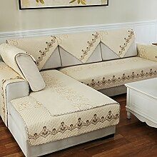 Alle Jahreszeiten Baumwolle Sofakissen/ einfaches Sofa Stoff Servietten-O 90x240cm(35x94inch)