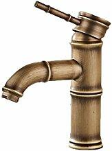Alle Kupfer antik Wasserhahn warmes und kaltes