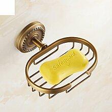 Alle Kupfer antiken Seife Gitter/Soap Box/Kreative Continental Bad-Accessoires