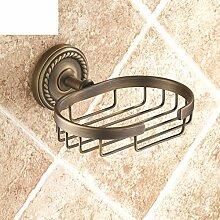 Alle Kupfer antiken Seife Gitter/Soap Box/Seifenschale/Kreative Continental Bad-Accessoires-A