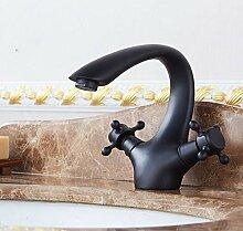 Alle Kupfer Einloch-Wasserhahn Waschbecken