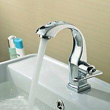 Alle Kupfer Eitelkeiten Einziger Kaltwasserhahn Waschbecken Waschtisch Aufsatzbecken Bad Wasserhahn