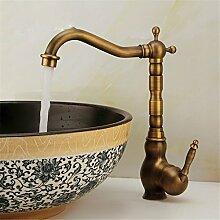 Alle Kupfer - Europäische antike Wasserhahn Waschtisch Armatur Waschbecken Armaturen Waschbecken Wasserhahn