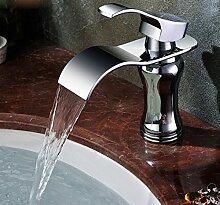 Alle Kupfer Heiße Und Kalte Dusche Waschbecken Wasserfall Wasserhahn Waschbecken Wasserhahn Bad Hardware