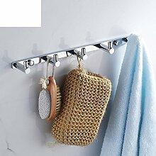 Alle Kupfer Kleiderhaken/Kreative Kleiderhaken/Badezimmer dicke durchgezogene Reihe Haken/Kleiderhaken/Badezimmer Accessoires-A