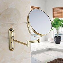Alle Kupfer Kosmetikspiegel/Badezimmer Schminkspiegel/Wandspiegel teleskopisch-A