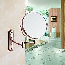 Alle Kupfer Kosmetikspiegel/Badezimmer Schminkspiegel/Wandspiegel teleskopisch-B