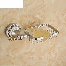 Alle Kupfer Seifenhalter/Bad-Accessoires Seifenkiste/Continental Seife Netzwerk/Bad Seifenschale/Seifenschale-B