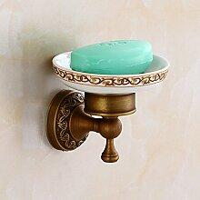 Alle Kupfer Seifenschale, Badezimmer Regal, Waschmittel, Antike Seifenschale, Seife, Seife, Europäischen Stil Badezimmer Anhänger