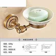 Alle Kupfer Seifenschale/Continental retro Seifenhalter/Antike Seifenschale/Toilettenseife Netzwerk-G