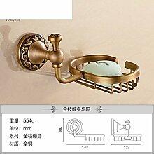 Alle Kupfer Seifenschale/Continental retro Seifenhalter/Antike Seifenschale/Toilettenseife Netzwerk-B