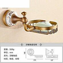 Alle Kupfer Seifenschale/Continental retro Seifenhalter/Antike Seifenschale/Toilettenseife Netzwerk-D