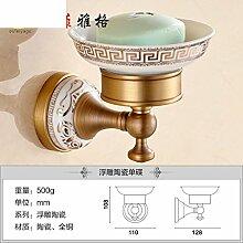 Alle Kupfer Seifenschale/Continental retro Seifenhalter/Antike Seifenschale/Toilettenseife Netzwerk-H