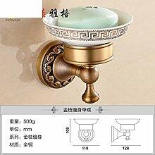 Alle Kupfer Seifenschale/Continental retro Seifenhalter/Antike Seifenschale/Toilettenseife Netzwerk-F