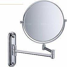 Alle Kupfer-Wandspiegel/Retractable Klappspiegel/Bad Beauty Spiegel/Spiegel-D