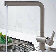 Alle Kupfer Weiß Waschbecken Wasserhahn Beschichtung Heiß Und Kalt Küchenarmatur